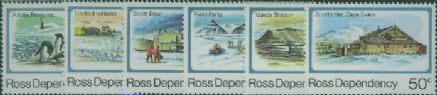 ROSS SG15-20 1982 Definitive set of 6